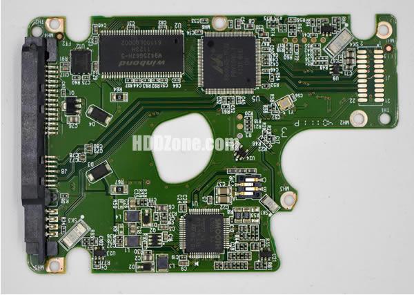 2060-771696-004 Festplatten Elektronik Controller Platine WD PCB