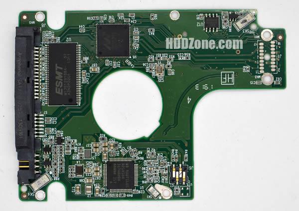 WD7500BPVX WD PCB 2060-771960-000