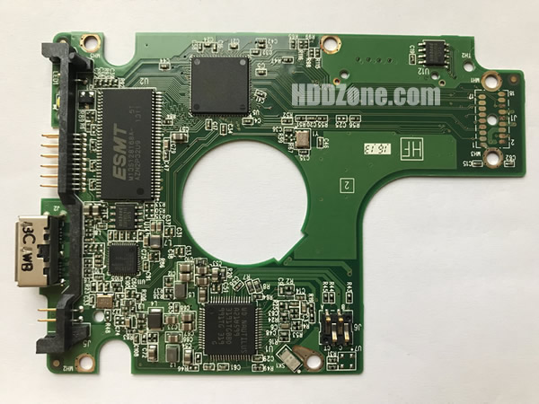 2060-771961-000 Festplatten Elektronik Controller Platine WD PCB