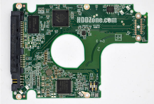 WD5000LPVX WD PCB 2060-771931-000