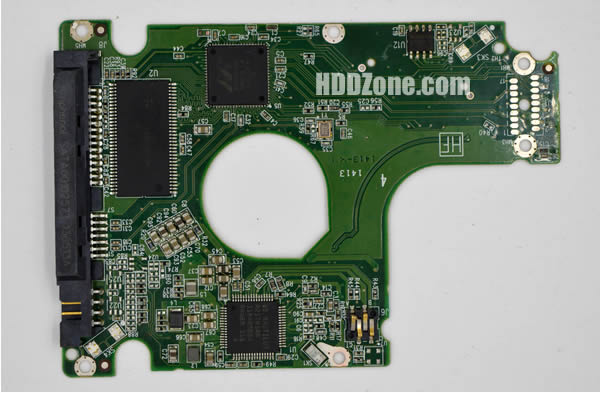 WD5000LPVX WD PCB 2060-771959-000 REV P2