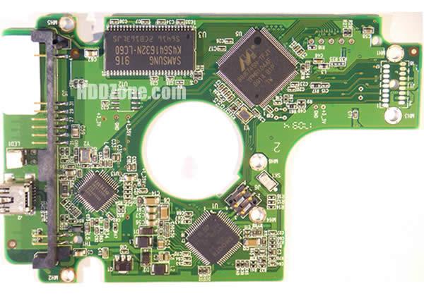 2060-701615-004 웨스턴 디지털 하드디스크 기판 WD PCB