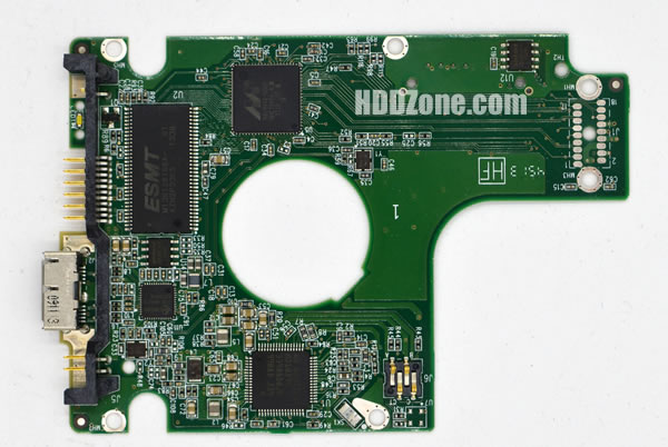 WD10JMVW WD PCB 2060-771961-001 REV A