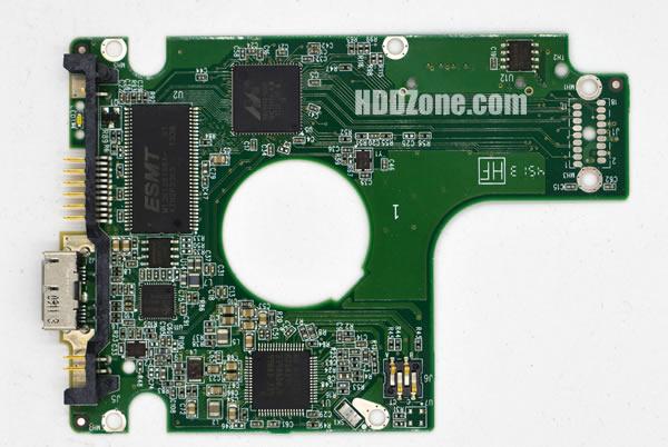 WD5000KMVW WD PCB 2060-771961-001 REV A