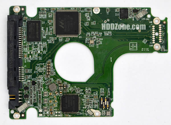 WD5000LPVT WD PCB 2060-771852-004