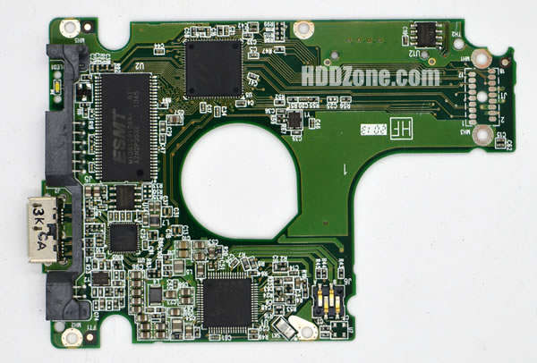WD5000LPVT WD PCB 2060-771962-000