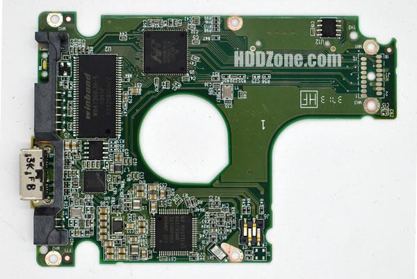 WD5000BPVT WD PCB 2060-771962-002