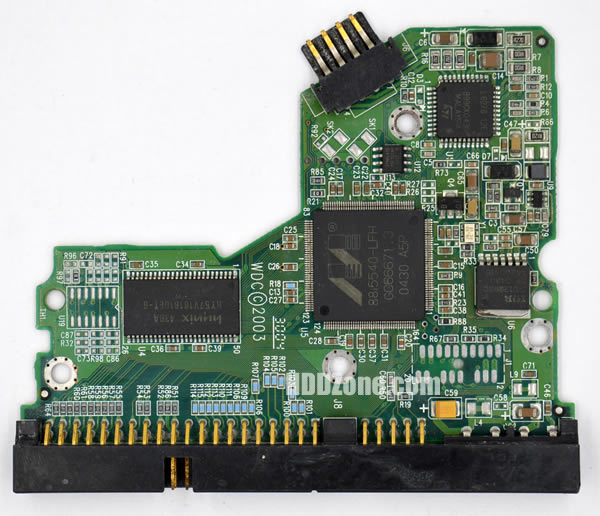 WD800BB WD PCB 2060-001130-012 REV A