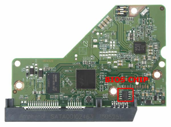 2060-771945-002 웨스턴 디지털 하드디스크 기판 WD PCB