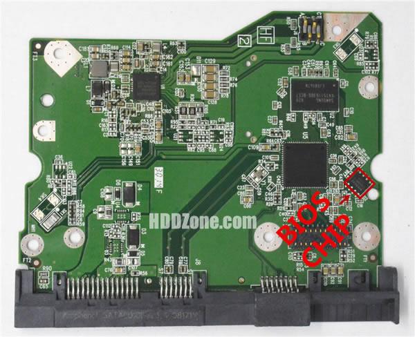 2060-800001-000 웨스턴 디지털 하드디스크 기판 WD PCB