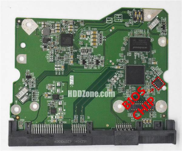 2060-800001-002 웨스턴 디지털 하드디스크 기판 WD PCB