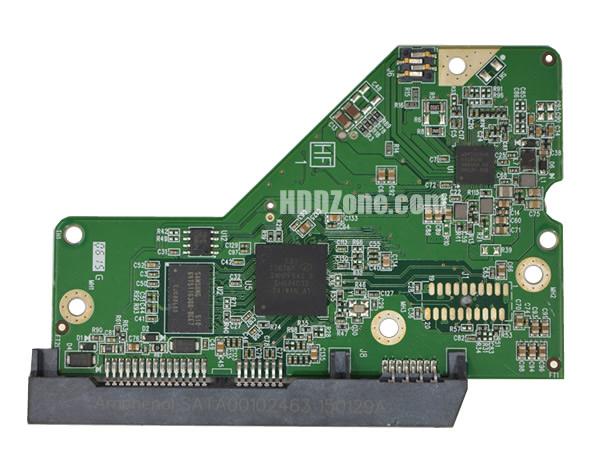 2060-800006-001 Festplatten Elektronik Controller Platine WD PCB
