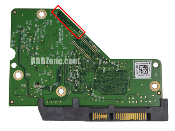 WD 2060-800006-001 PCB