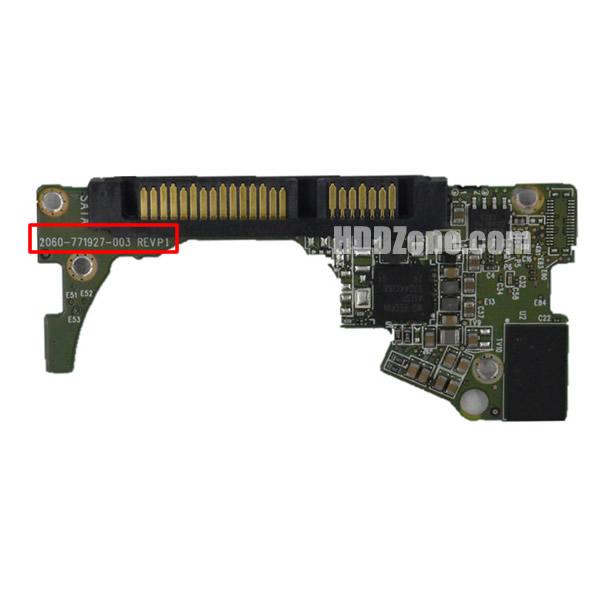 2060-771927-003 웨스턴 디지털 하드디스크 기판 WD PCB