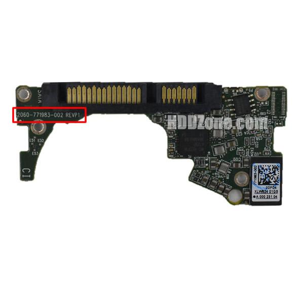 2060-771983-002 웨스턴 디지털 하드디스크 기판 WD PCB