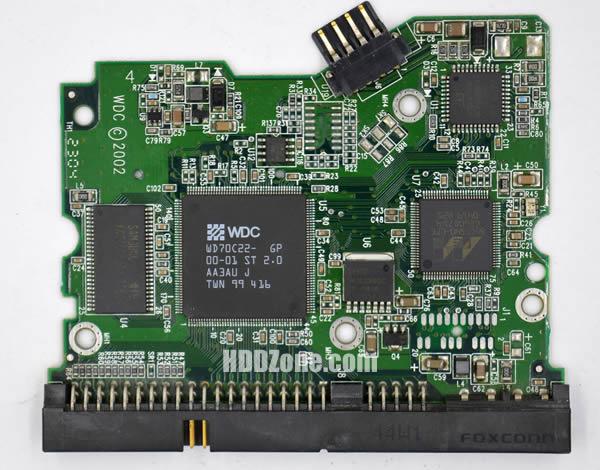 WD800EB WD PCB 2060-001159-006 REV A