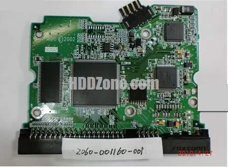 2060-001160-001 Festplatten Elektronik Controller Platine WD PCB