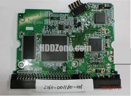 WD1600JB WD PCB 2060-001160-001