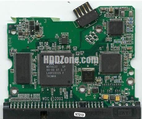 WD2500BB WD PCB 2060-001173-004