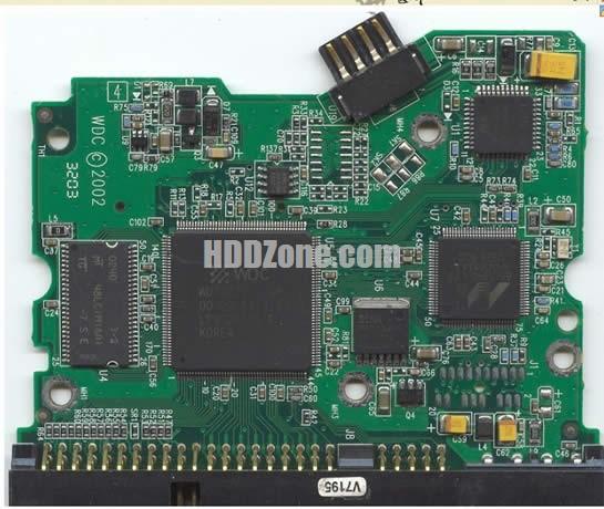 WD400JB WD PCB 2060-001175-000