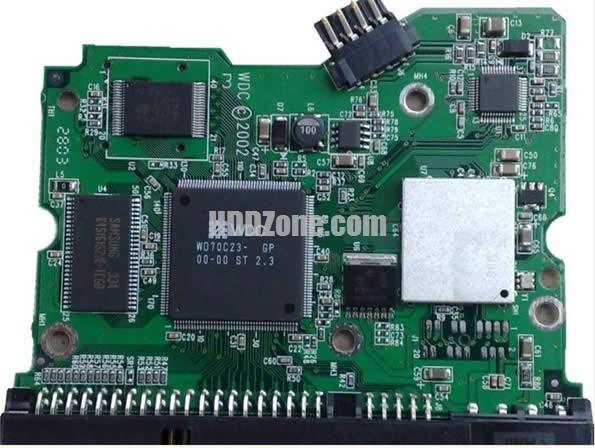 WD400BB WD PCB 2060-001177-000