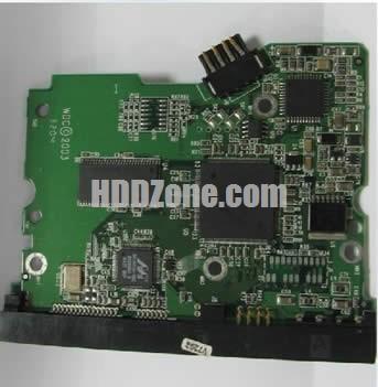 WD400JD WD PCB 2060-001252-000