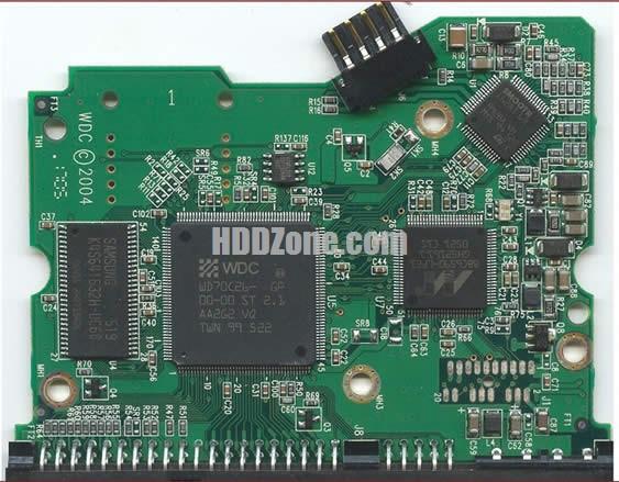 2060-001266-000 웨스턴 디지털 하드디스크 기판 WD PCB