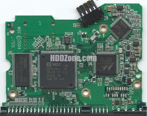 2060-001266-001 Festplatten Elektronik Controller Platine WD PCB
