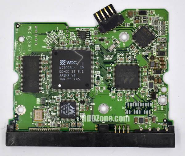2060-001267-001 웨스턴 디지털 하드디스크 기판 WD PCB