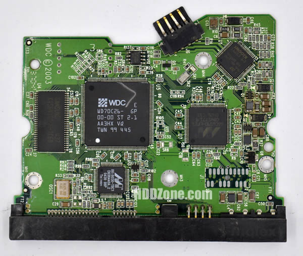 WD1600JD WD PCB 2060-001267-001