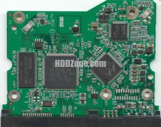 WD800JD WD PCB 2060-001293-000