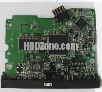 WD400BD WD PCB 2060-001293-001