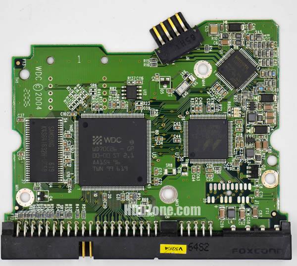 WD1600SB WD PCB 2060-701265-001 REV A