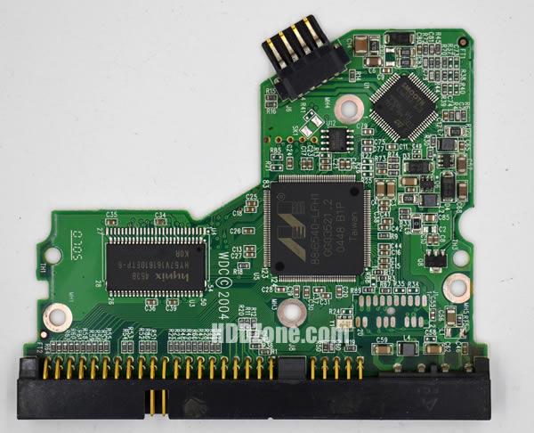 WD400BB WD PCB 2060-701292-000 REV A