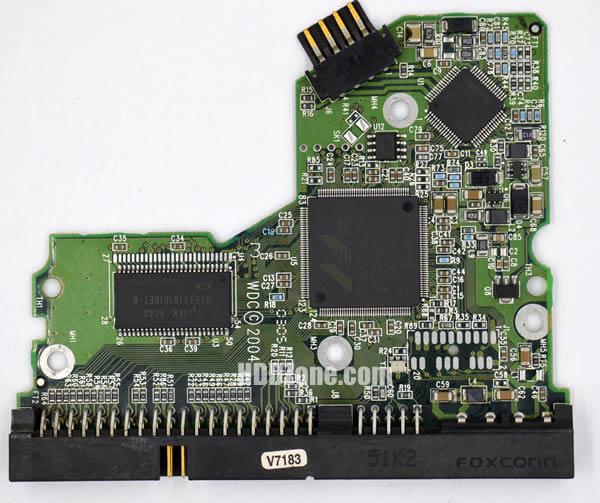 WD2500JB WD PCB 2060-701292-001 REV A
