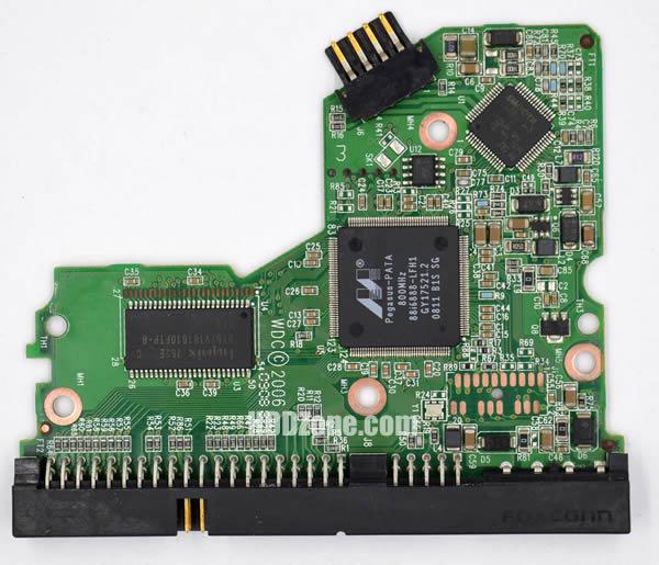 WD2500JB WD PCB 2060-701292-002 REV A