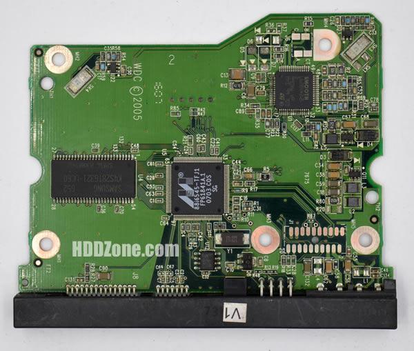 WD5000YS WD PCB 2060-701383-001 REV A
