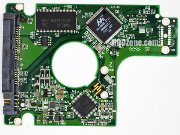 2060-701424-007 Festplatten Elektronik Controller Platine WD PCB