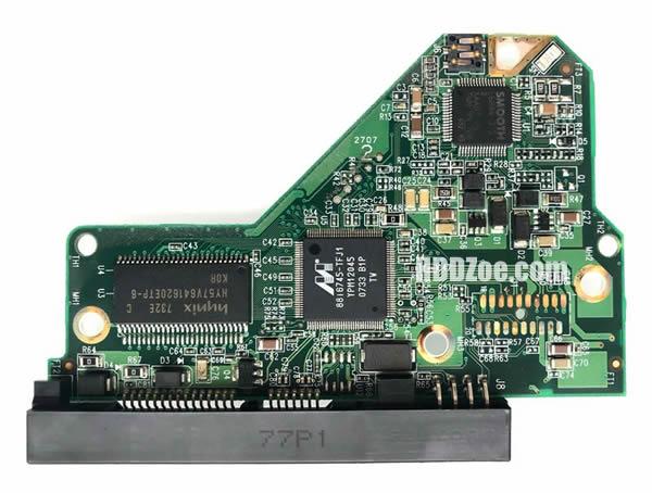 WD5000AVVS WD PCB 2060-701444-004 REV A