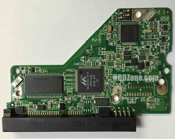 2060-701477-002 웨스턴 디지털 하드디스크 기판 WD PCB