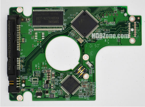 WD WD1600BEVT PCB Circuit Hard Drive Controller Board 2060-701499-005 Rev P1