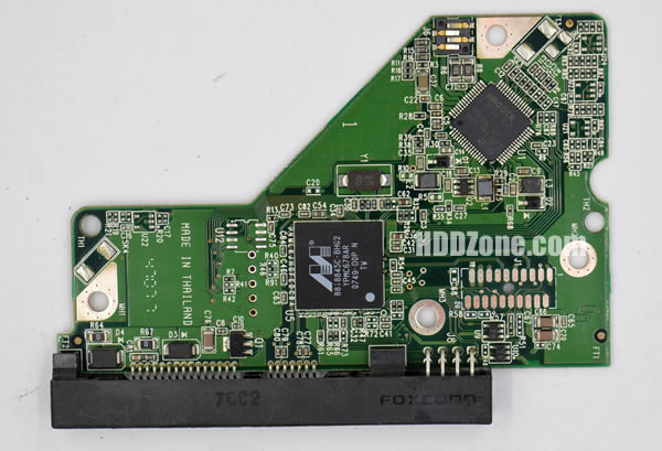 2060-701537-002 REV P1 carte PCB disque dur western digital