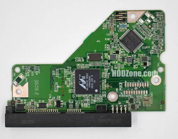 2060-701537-003 REV A carte PCB disque dur western digital