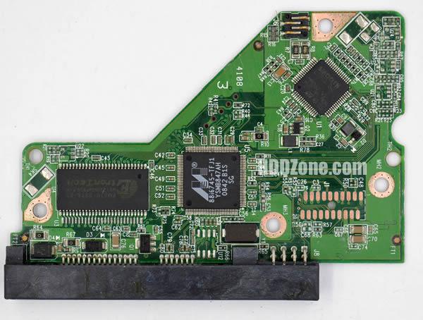 WD800AAJS WD PCB 2060-701552-003