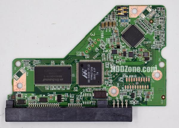 2060-701590-000 웨스턴 디지털 하드디스크 기판 WD PCB