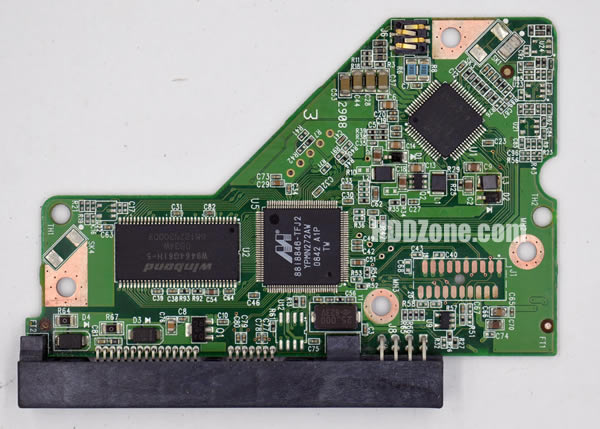 WD IDE 2.5 Leiterplatte PCB 2061-701510-000 AG WD1600BEVE-00UYT0