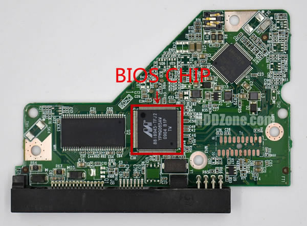 2060-701640-000 REV P1 carte PCB disque dur western digital