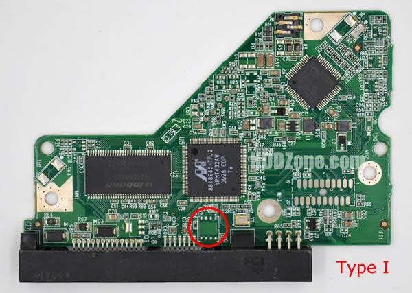 WD10EALS WD PCB 2060-701640-001 REV A