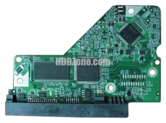 2060-701640-005 Festplatten Elektronik Controller Platine WD PCB