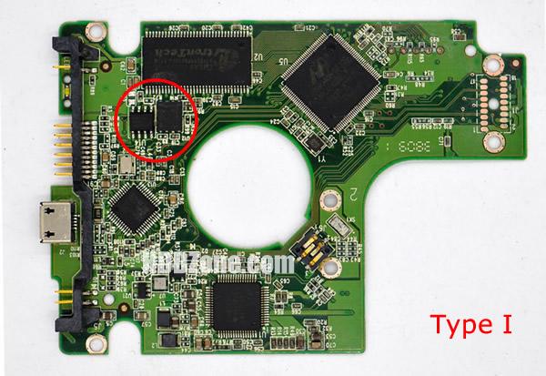 2060-701675-001 웨스턴 디지털 하드디스크 기판 WD PCB